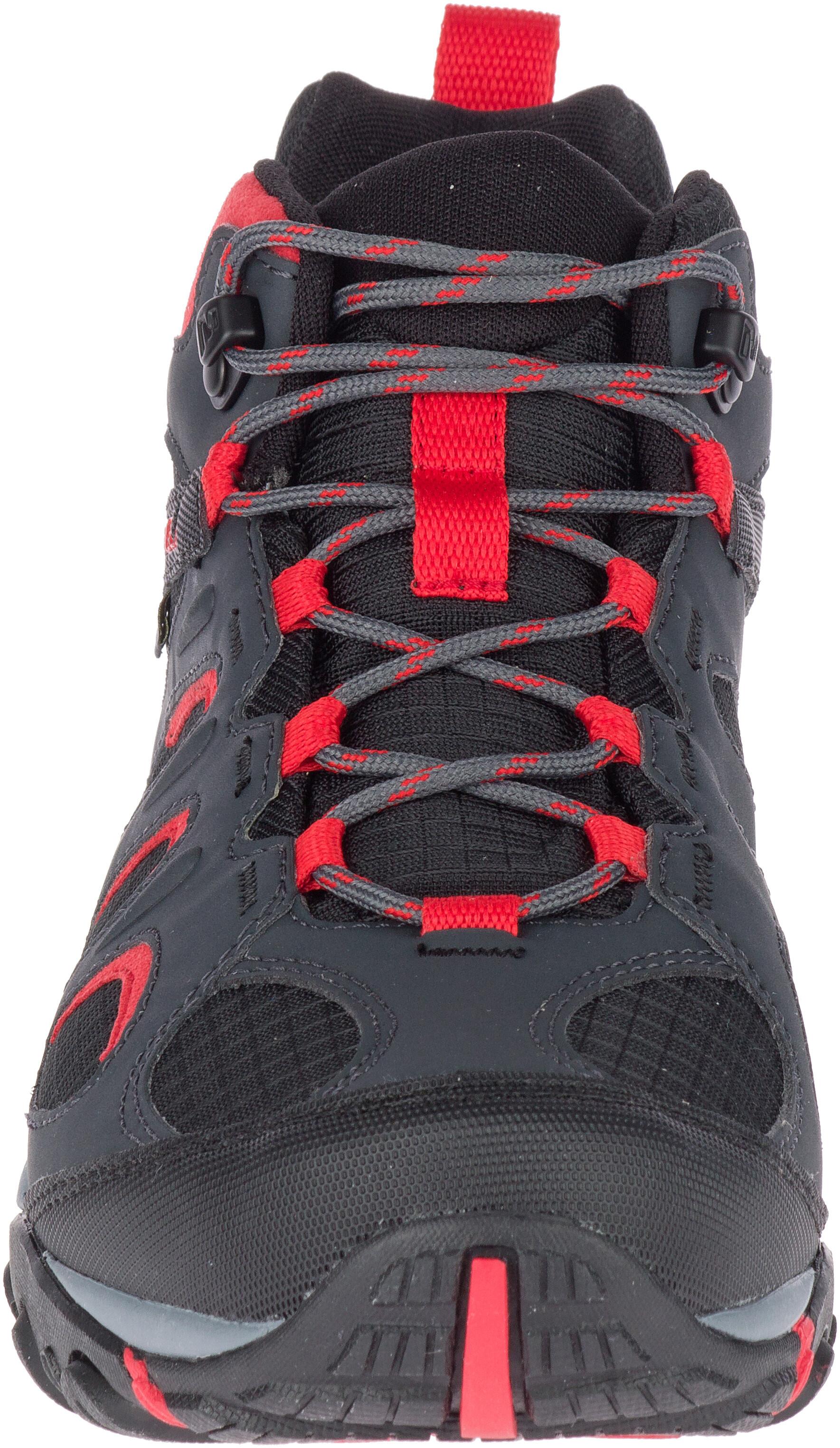 2814e086494 Merrell Yokota 2 Sport Mid GTX Shoes Men red black at Addnature.co.uk